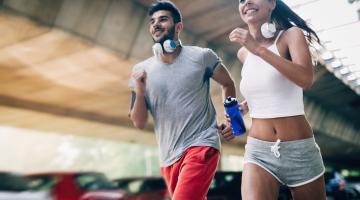 running vs jogging