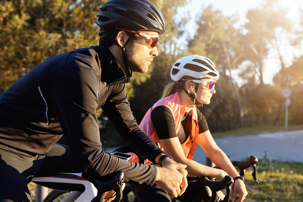 use running sunglasses for cycling