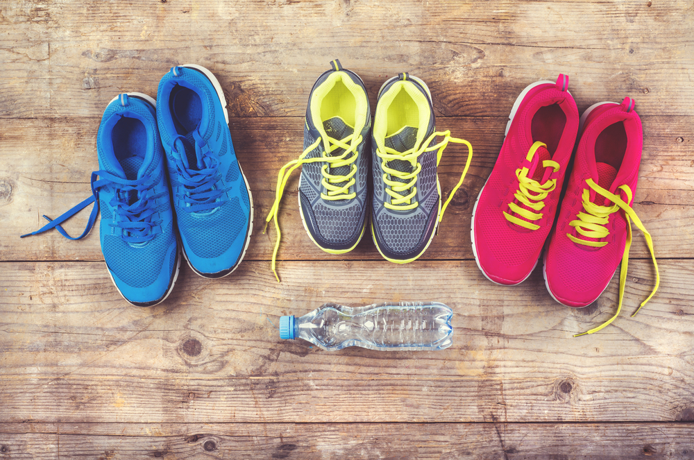 difference between running shoes vs training shoes