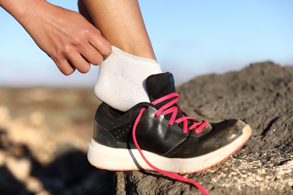 use lightweight and breathable socks