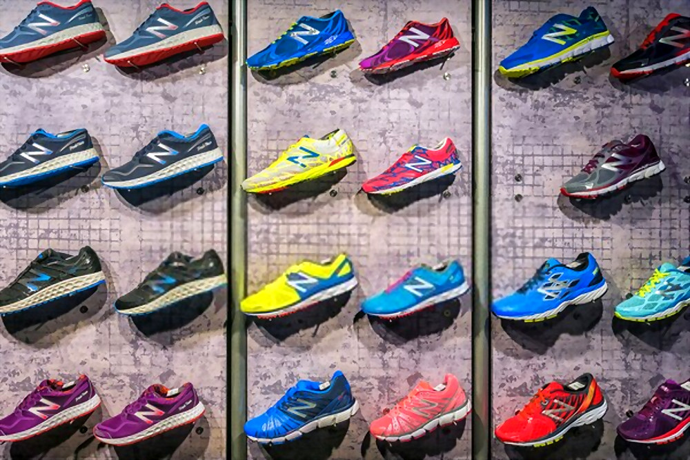 types of new balance running shoes
