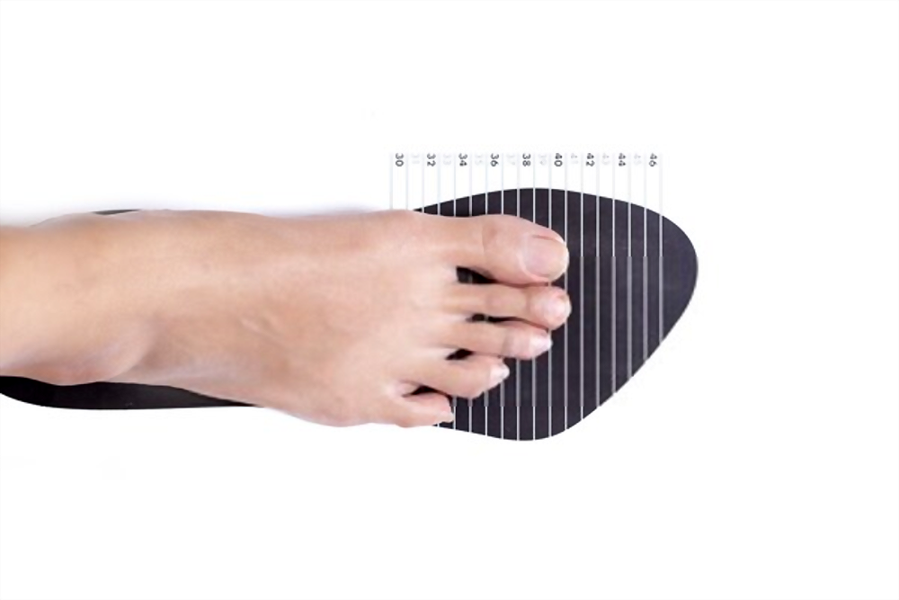 Sizing Running Shoe